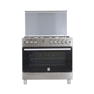 Mika MST9OPU5GHI\HC Standing Cooker 90 By 60 Cm, 5GB Electric Oven photo