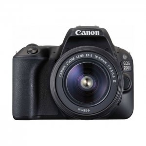 Canon EOS 200D 24.4MP Wi-Fi Digital Camera + EF-S 18-55 mm III Lens photo