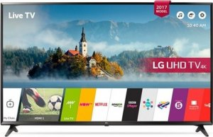 LG 43 INCH SMART TV  WITH MAGIC REMOTE- 43LJ610V Free Delivery photo