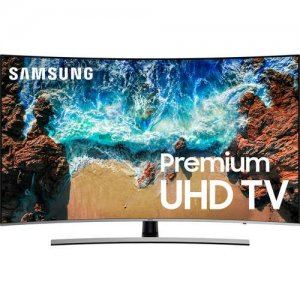 Samsung 65 Inch HDR 4K UHD Smart Curved LED TV UA65NU8500K (2018 Model) photo