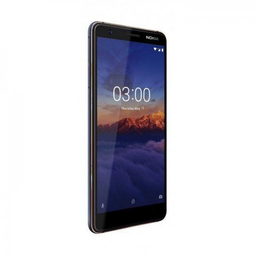 """Nokia 3.1 16GB 13MP Back+ 8MP Front 5.2"""" Phone - Blue/Black/white By Nokia"""