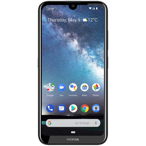 "Nokia 2.2 - 5.71"" inch - 2GB RAM - 16GB ROM - 13MP Camera - 4G - 3000mAh Battery By Nokia"