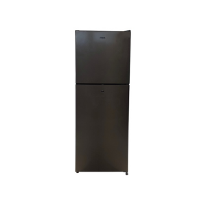 MIKA Refrigerator, 201L, No Frost, Double Door, Brush Stainless Steel photo