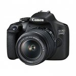 Canon EOS 2000D 24.1MP Wi-fi With 18-55 Lens IS II By Canon
