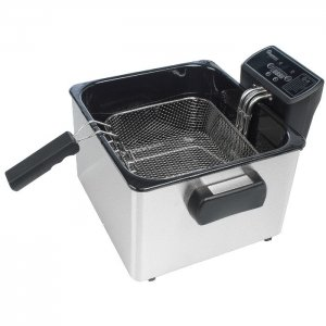 RAMTONS DEEP FRYER STAINLESS STEEL- RM/370 photo