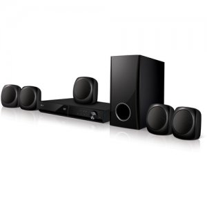LG LHD427 5.1-Ch 330W RMS Bluetoth DVD Home Theater System photo