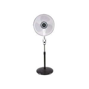 "MIKA Stand Fan, FANCY, 16"", White & Black - MFS1622/WB photo"