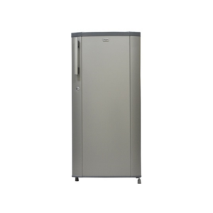 MIKA Refrigerator, 170L, Direct Cool, Single Door, Moon Silver photo