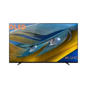 55A80J Sony 55 Inch A80J OLED XR Series HDR 4K UHD Smart  TV - 2021 Model (KD55A80J) photo
