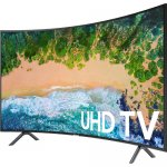 Samsung 55 Inch HDR UHD Smart Curved LED TV 55NU7300K 2018 Model  By Samsung
