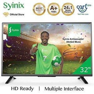 Syinix 32 Inch 32S610  HD LED Digital TV - Black photo