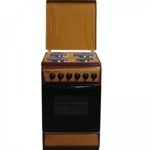 4 ELECTRIC 50X55 WHITE/BROWN/SILVER COOKER- RF/192 photo