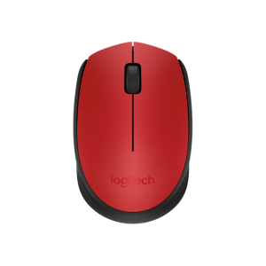 Logitech Wireless Mouse M171 – Red photo