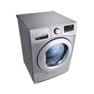 LG RC9066G2F Condensation Dryer, 9KG - Silver photo