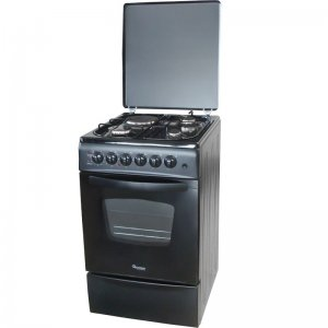 3G+1E 60X60 EURO BLACK COOKER- RF/407 photo
