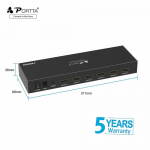 8-Port (1x8) HDMI 1.3 Amplified Powered Splitter/Signal Distributor - Ver 1.3 Full HD 1080P, Deep Color, HD Audio By Sony
