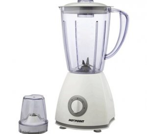 HOTPOINT HB251KW 500W H/SPEC BLENDER+ 1MILL – WHITE photo