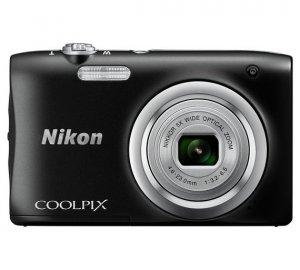 Nikon Coolpix A100 20MP 5x Zoom Compact Camera - Black photo