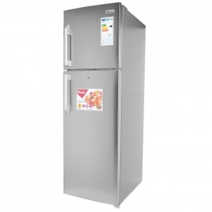 252 LITRES DOUBLE DOOR NO FROST FRIDGE, SILVER- RF/282 photo
