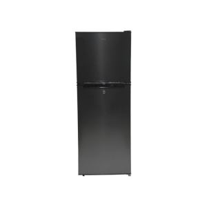 MIKA Refrigerator, 138L, Direct Cool, Double Door, Dark Matt Stainless Steel photo
