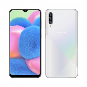 "Samsung Galaxy A30s (SM-A307FN/DS) 6.4"" Inch - 4GB RAM - 128GB ROM - 28MP+8MP+5MP Camera - 4G - 4000 MAh Battery photo"