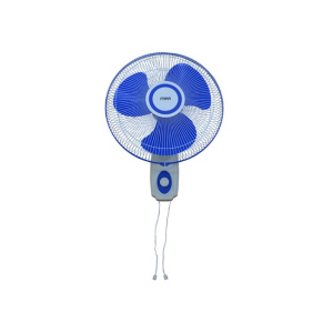 "MIKA Wall Fan 16"", Blue & White MFW160/BW photo"