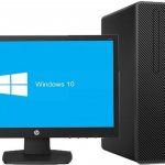 "HP 290 G2 Microtower PC Core™ i5 processor (i5-8500); 8th Generation,3.00GHz, 4GB Ram, 1TB HDD, DVD RW + 18.5"""" By HP"
