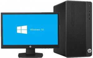 "HP 290 G2 Microtower PC Core™ i5 processor (i5-8500); 8th Generation,3.00GHz, 4GB Ram, 1TB HDD, DVD RW + 18.5"""" photo"
