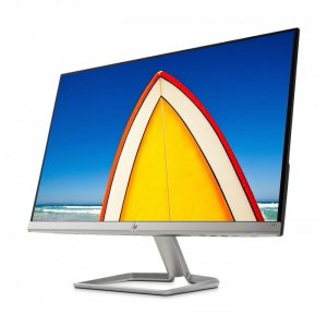 HP 24fw 23.8 Inch Ultra Slim Monitor, White Color photo