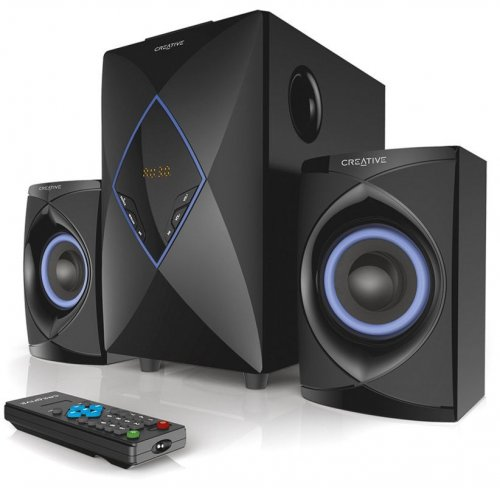Creative SBS-E2800 2.1 High Performance Speakers System (Black)  By Creative