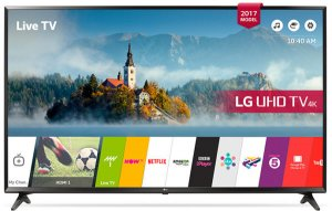 LG 43 inch 43UJ630V 4K UHD Smart Television LED Free Delivery photo