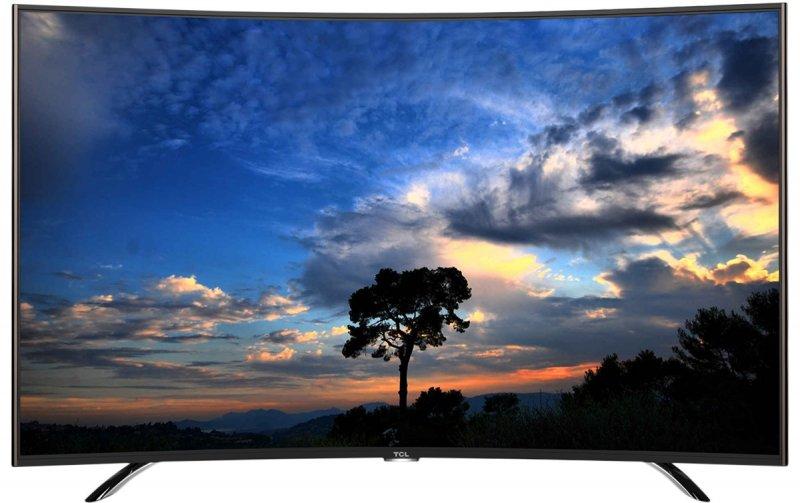 "TCL Tv 55P1CFS in Kenya 55"" Smart Digital Curved TV"
