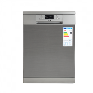 Von VALZ-14FGS Dishwasher 14PS P.Memory - Silver photo