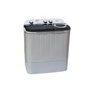MIKA Washing Machine, Semi-Automatic Top Load, Twin Tub, 6Kg, White & Grey MWSTT2206  photo