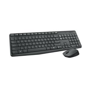 Logitech Wireless Keyboard & Mouse MK235 - English & Arabic photo