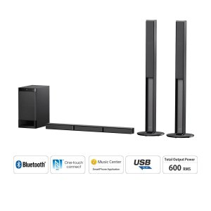Sony HT-RT40/HT RT40 5.1 Channel Sound Bar Home Theatre System -600W+Bluetooth photo