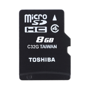 Toshiba Micro SD 8GB With Card Reader photo