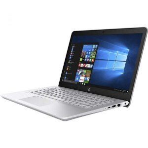HP Pavilion – 14-bk063st – 14″ i7 7500u, 2.5GHz, 8GB RAM, 512 GB SSD, Windows 10 – Silver photo