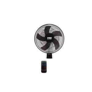 Von HFW661B/VSNC6611K Wall Fan With Remote - Black photo
