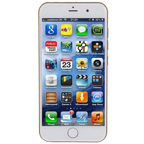 Hotwav IP8 4G,3GB Ram,32GB,Dual Sim - Gold/Black By Hotwav