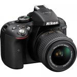 Nikon D5300 DSLR Camera with 18-55mm Lens (Black) By Nikon