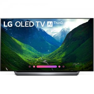 LG 55 inch HDR 4K UHD Smart OLED TV 55C8PVA photo