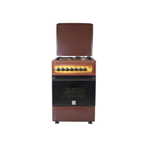 Mika Standing Cooker, 50cm X 55cm, 3 + 1, Electric Oven, Light Brown TDF MST55PI31DB/HC photo