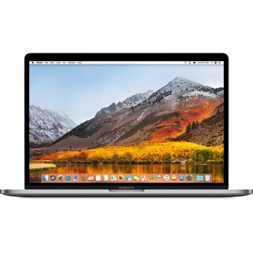 "Apple 15.4"" MacBook Pro with Touch Bar (Mid 2018, 256GB SSD,Silver/Space Gray)- APMR932LL/A By Apple"