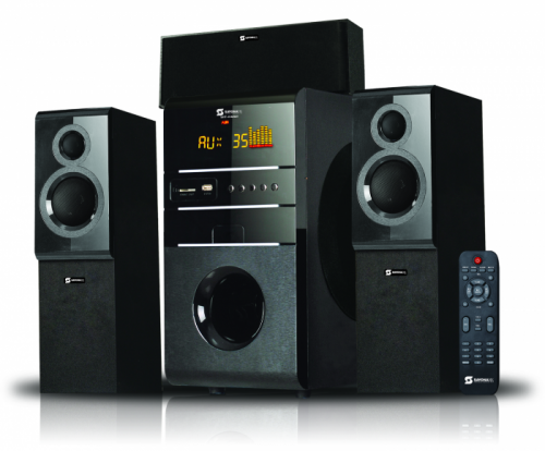 Sayona Subwoofer Chanel 3.1, 15000Pmpo, USB/SD/FM/ Remote Control LED Display - SHT-1142BT By Sayona