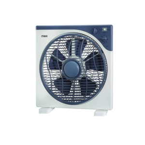 "MIKA Box Fan, 12"", Square, Light & Dark Grey MFB1210/DG photo"
