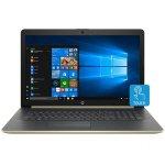 "HP 17-by0063cl Intel Core i7-8550U 8GB+1TB+16GB SSD Intel Optane 17.3""Full HD Touch Screen Laptop- Silver/Gold By HP"