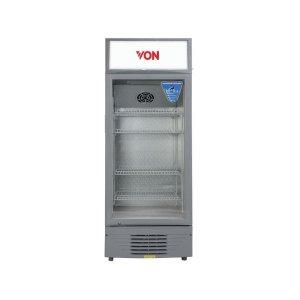 Von VARV23DAS Vertical Cooler, 226L - White+Grey photo