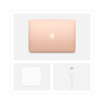 "Apple 13.3"" MacBook Air With Retina Display Core I3 256GB SSD(Early 2020, Gold) - MWTL2LL/A By Apple"