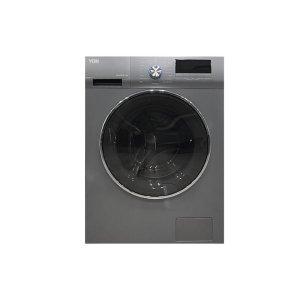 Von VALW-09FXS Front Load Washing Machine Silver 9KG photo